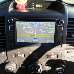 Toyota Hilux In dash navigation system
