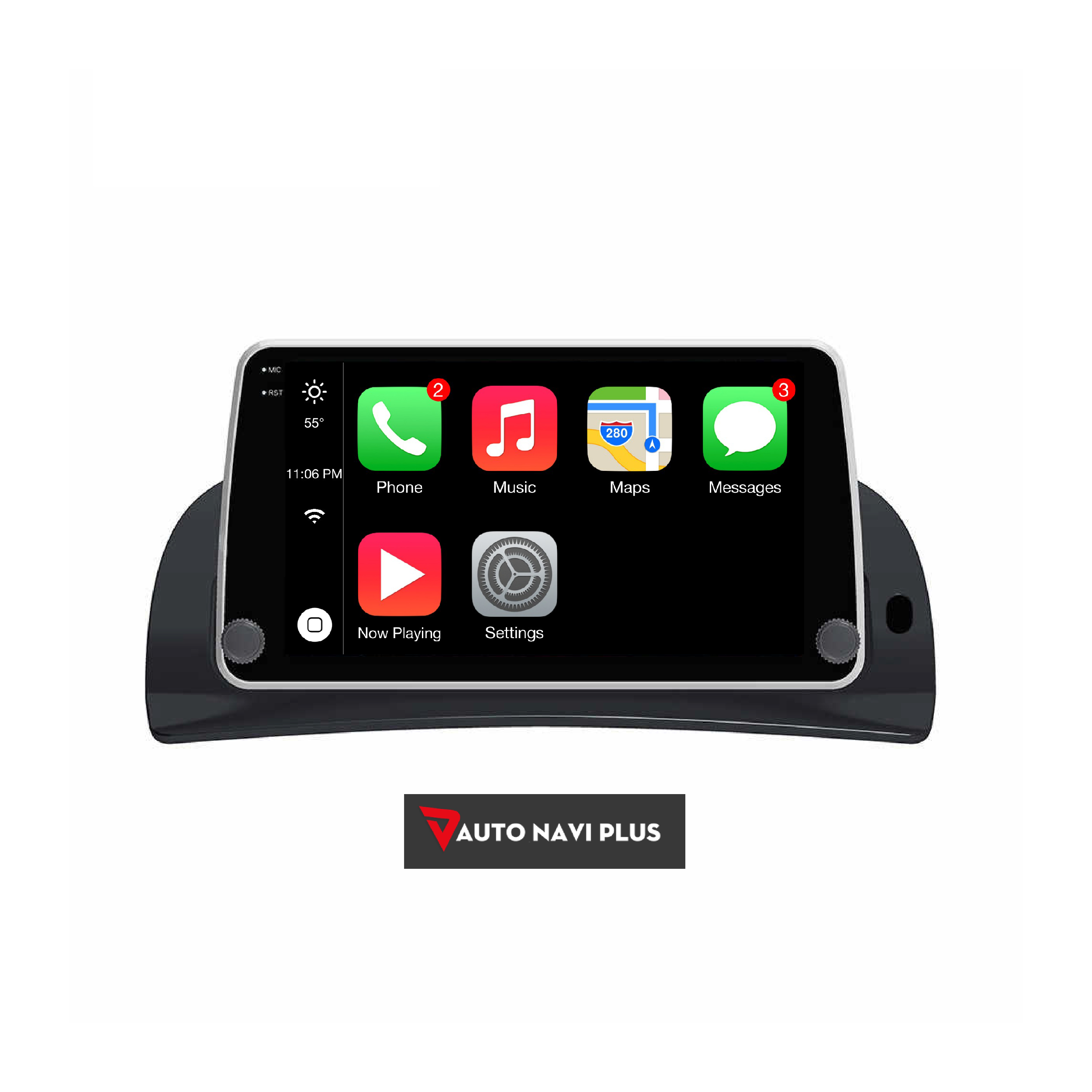 ANP® Car DVD GPS For Renault Kangoo Apple Car Play Android